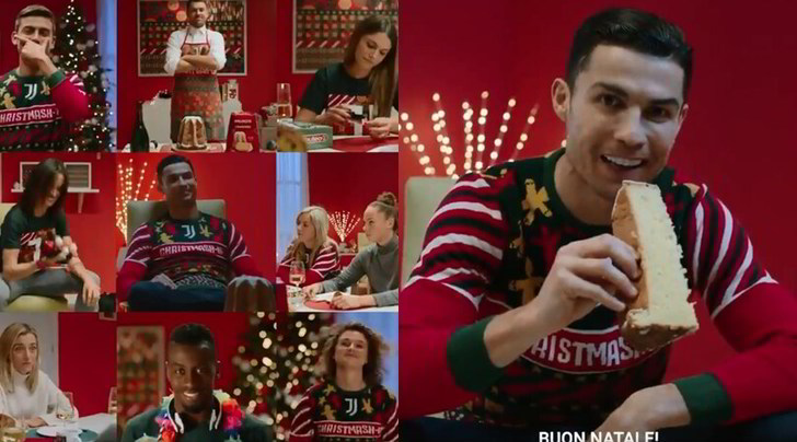 """Il Natale della Juve: è arrivato il """"Christmash-up"""""""