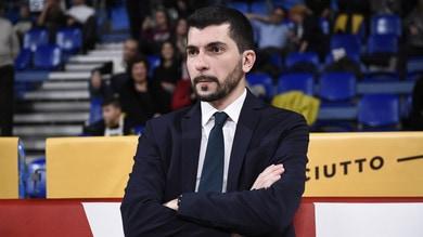 Pesaro, coach Perego esonerato: Sacco torna in panchina