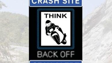 Gran Bretagna, un nuovo segnale stradale per prevenire gli incidenti in moto