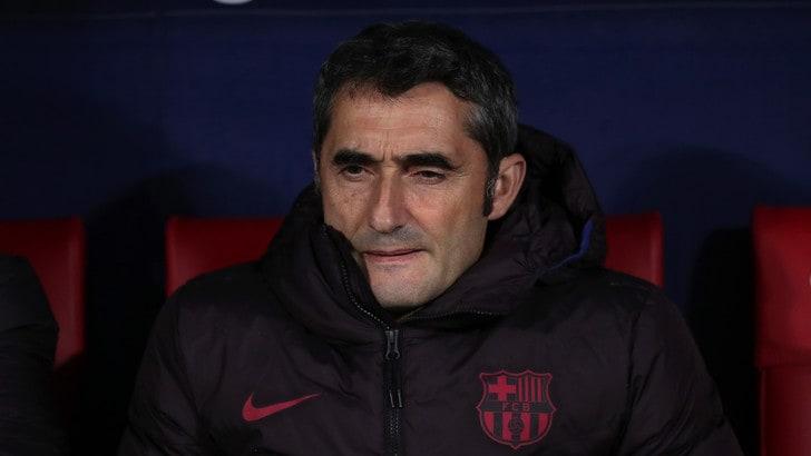 """Valverde: """"Non ci importa dell'Inter, il Barcellona deve vincere"""""""