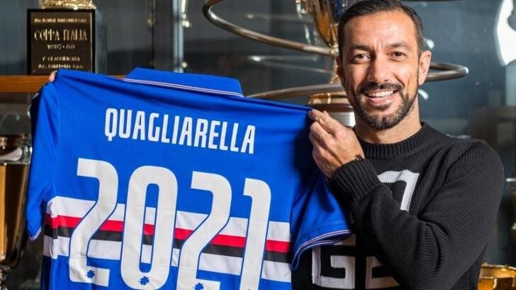 Sampdoria, Quagliarella prolunga il contratto fino al 2021