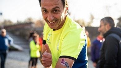 Sole e sorrisi, che festa l'allenamento Run Rome The Marathon Get Ready
