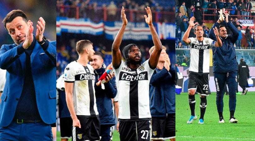 Festa Parma sul campo della Sampdoria: decide il gol di Kucka