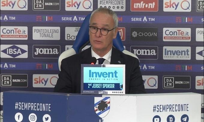 """Ranieri: """"Con le unghie e con i denti, ma ci salveremo"""""""