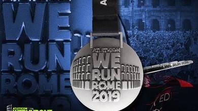 Presentata la medaglia della Atleticom We Run Rome