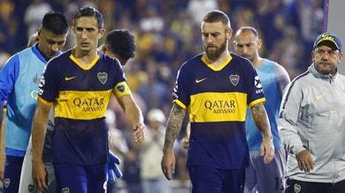 Boca Juniors ko sul campo del Rosario Central: De Rossi in campo 70 minuti
