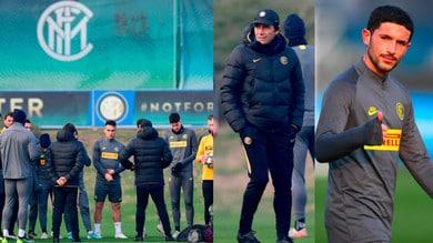 Inter, Conte carica la squadra per la Champions. Si rivede anche Sensi