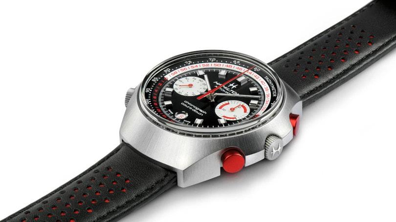 Chrono-Matic 50 di Hamilton, l'orologio dalla forte personalità