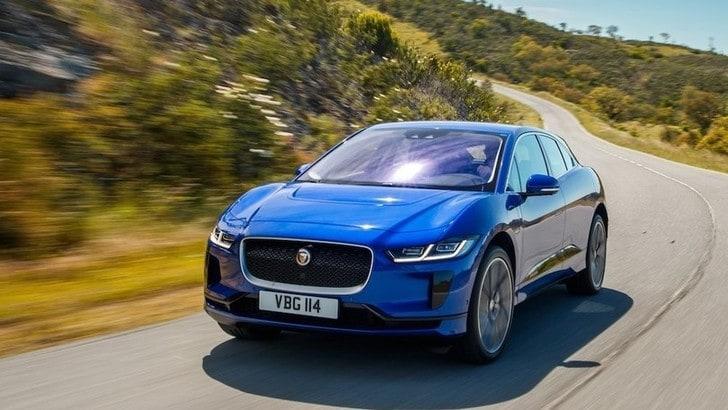 Jaguar I-Pace, 20 km in più d'autonomia con il nuovo software