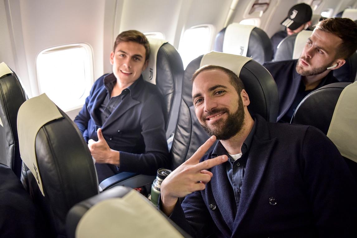 Higuain, compleanno in volo: la Juve è a Leverkusen