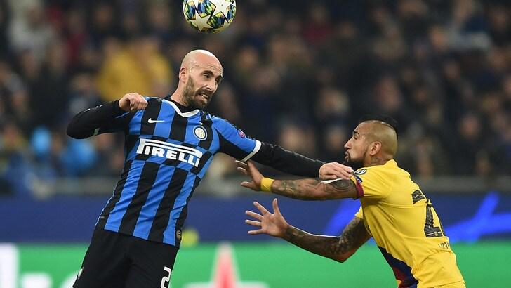 Inter-Barcellona 1-2, il tabellino