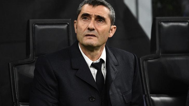 """Barcellona, Valverde: """"Inter troppo nervosa per quel gol che non arrivava"""
