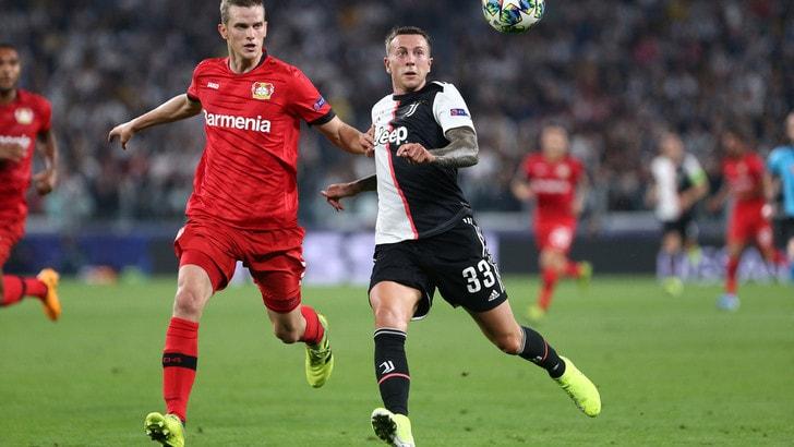 Diretta Bayer Leverkusen-Juve ore 21: formazioni ufficiali e dove vederla in tv