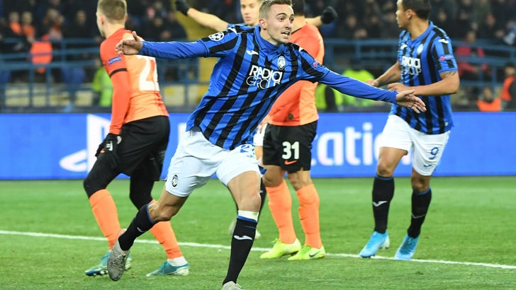 Shakhtar-Atalanta 0-3: delirio nerazzurro e ottavi di Champions conquistati