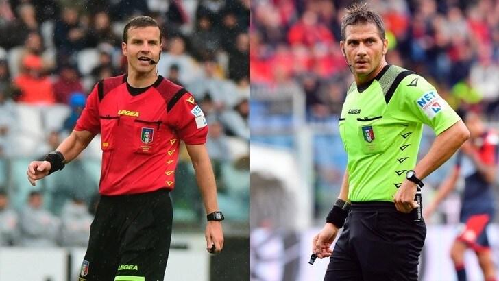 Serie A, arbitri 16ª giornata: a La Penna Verona-Torino, Pasqua per Juve-Udinese