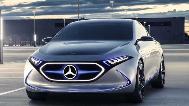 Mercedes EQA Concept: gli scatti