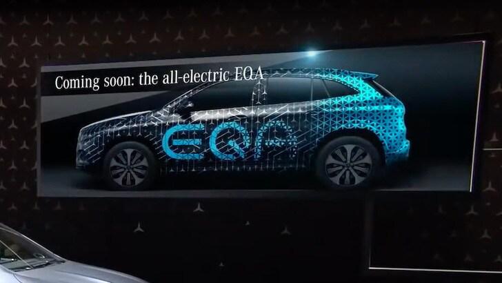 Mercedes EQA, GLA apre all'elettrica nel 2020