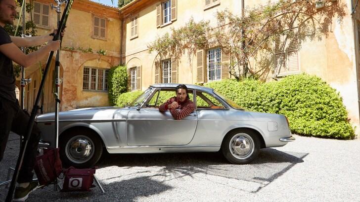 Marco Bocci in viaggio con Harmont & Blaine nella nuova campagna invernale 2019-20
