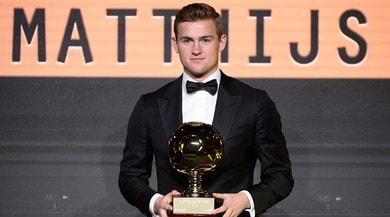 Golden Boy: festa De Ligt, il campione uscente