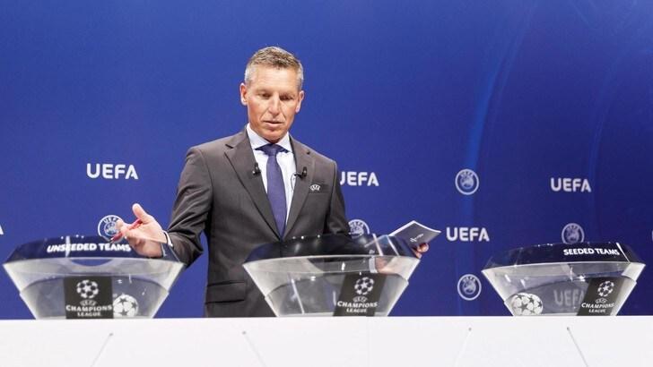 Diretta sorteggi Champions League: dove vederli in tv