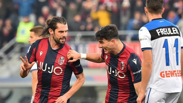 L'Atalanta cade a Bologna, pari Milan: 0-0 con il Sassuolo