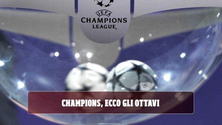 Sorteggio Champions: Barça-Napoli, Lione-Juve, Atalanta-Valencia