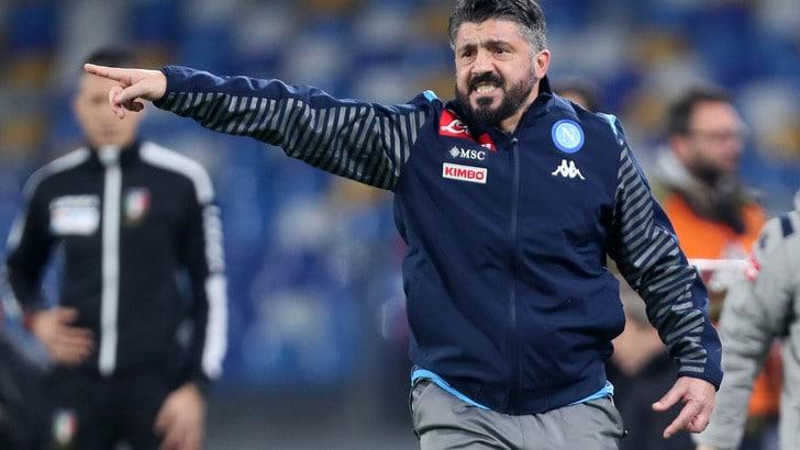 Napoli, Gattuso: