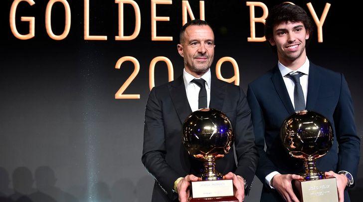 "Mendes: ""Joao Felix per Ronaldo è un fenomeno"""