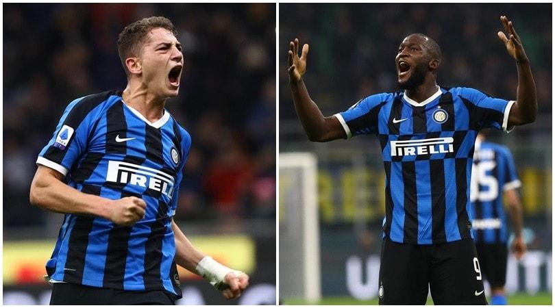 Inter, Lukaku è incontenibile. E che regalo al baby Esposito!