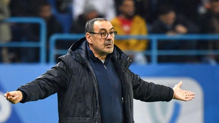 """Sarri: """"Il tridente non è il responsabile del ko della Juve"""". E s'infuria con il quarto uomo"""