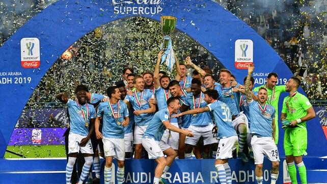 La Supercoppa è della Lazio: che festa a Riyad!