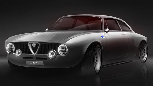 Alfa Romeo Giulia, Totem GT Electric: le immagini