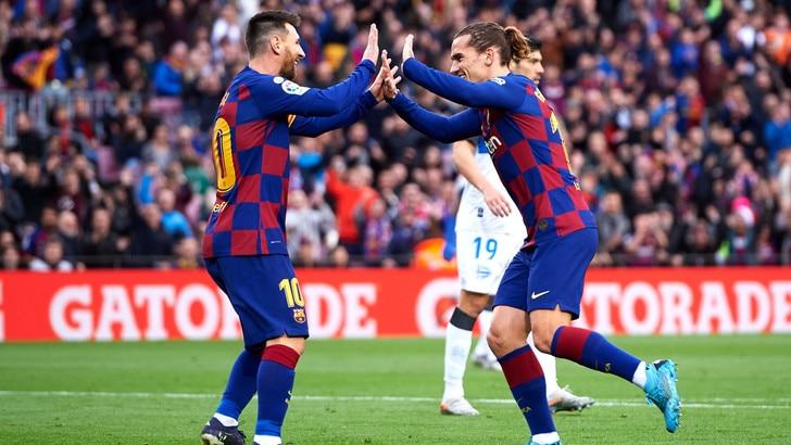 Barcellona, Griezmann su Messi: