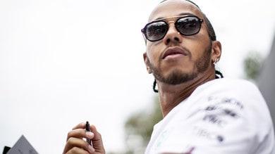 F1, Mercedes: Hamilton in pista con la nuova W11