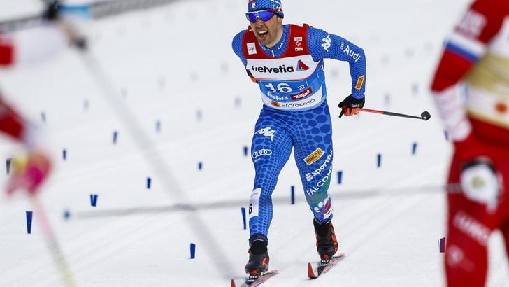 Tour de Ski, Klaebo vince lo sprint. Secondo Pellegrino