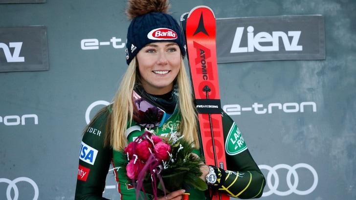 Shiffrin regina dello slalom speciale a Lienz