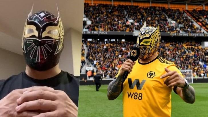 Il wrestler Sin Cara al Wolverhampton, ma è un