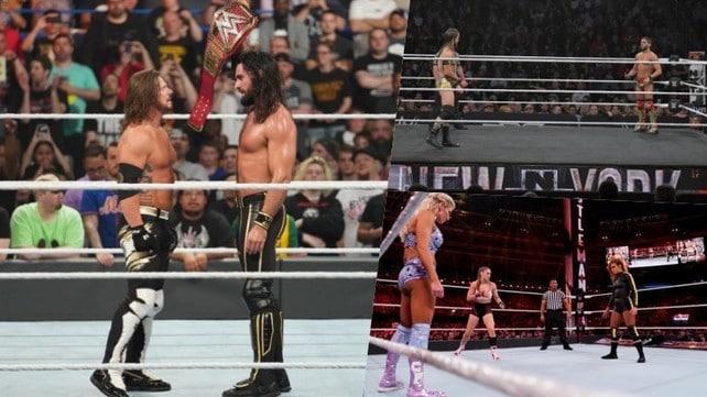Wrestling WWE, i 10 match più belli del 2019
