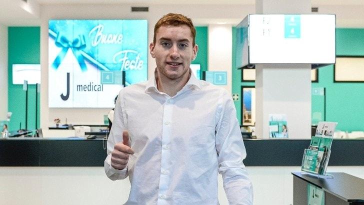 Juve, terminate le visite mediche per Kulusevski