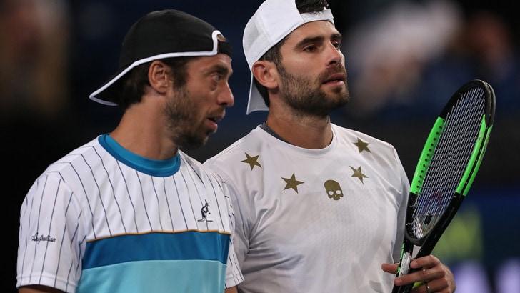 Italia, brutta partenza in Atp Cup: ko anche nel doppio, 3-0 per la Russia