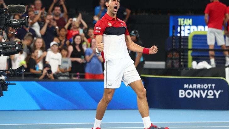 Nadal e Djokovic, prime vittorie in Atp Cup