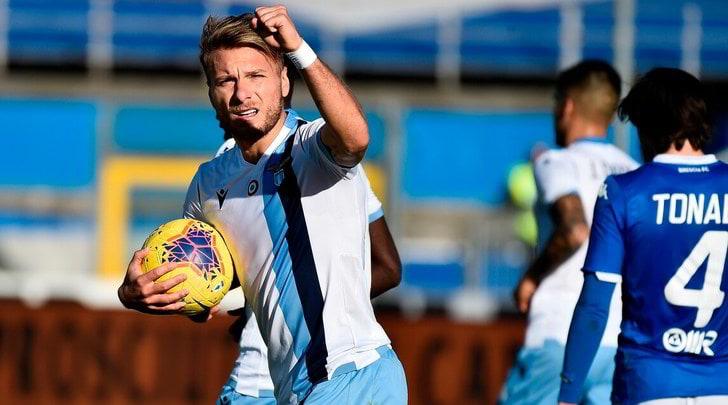 Brescia-Lazio 1-2, Immobile allo scadere regala il successo ad Inzaghi