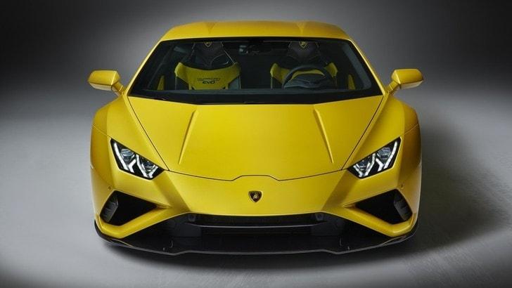 Lamborghini Huracán EVO RWD, potenza tutta dietro