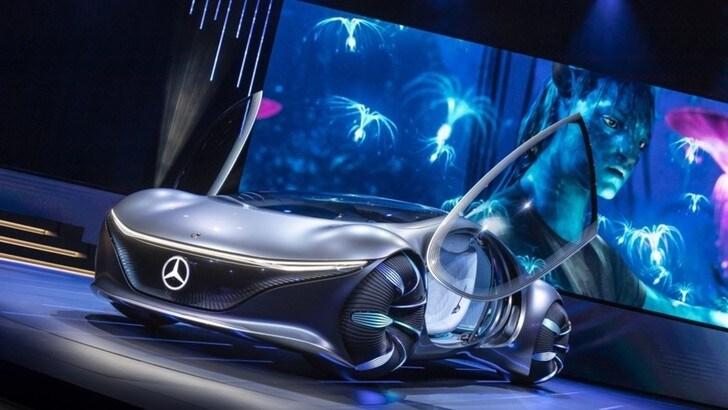 Mercedes Vision AVTR, al CES 2020 si uniscono natura e futuro