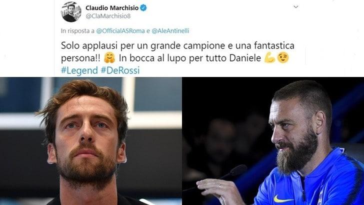 Marchisio sull'addio di De Rossi: