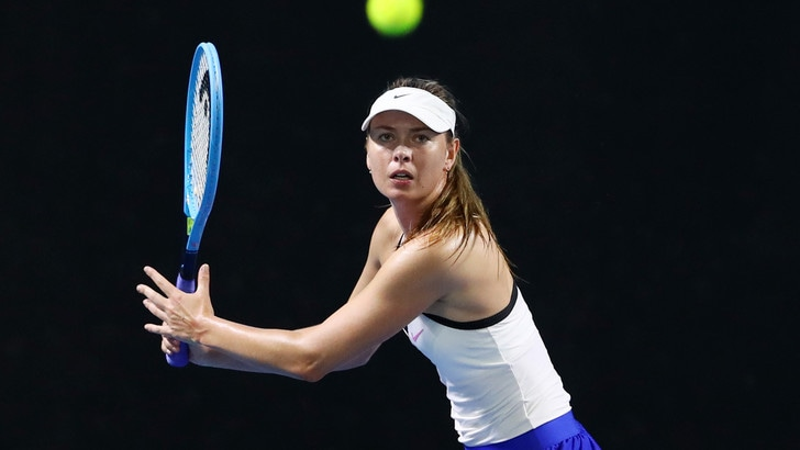 Maria Sharapova agli Australian Open, per lei una wild card