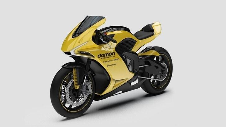 Damon Motorcycles, Hypersport HS presentata a Las Vegas