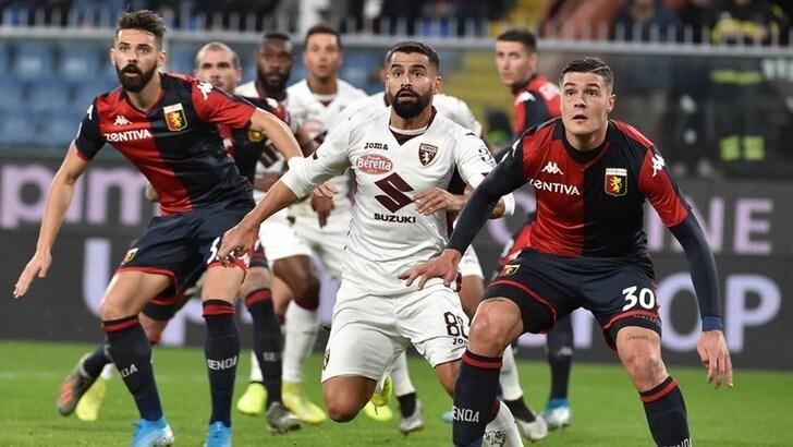 Diretta Torino-Genoa ore 21.15: dove vederla in tv e formazioni ufficiali