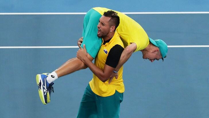 Atp Cup, Australia batte Gran Bretagna: è in semifinale