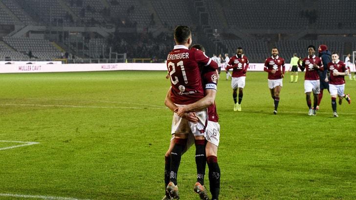 Torino-Genoa 6-4 (1-1) dcr: Berenguer manda Mazzarri ai quarti di Coppa Italia